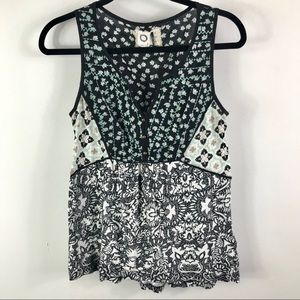 Anthropologie Akemi + Kin sleeveless blouse